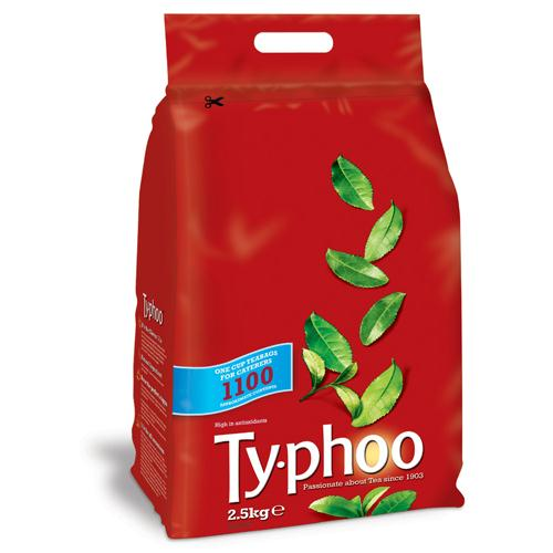 Typhoo One Cup Tea Bags Pack of 1100