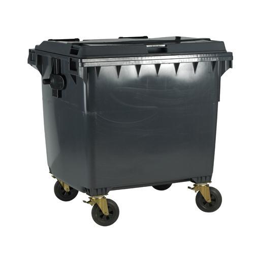 Wheeled Bin 770 Litre Grey 377388