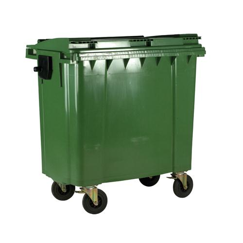 Wheeled Bin 770 Litre Green 377387