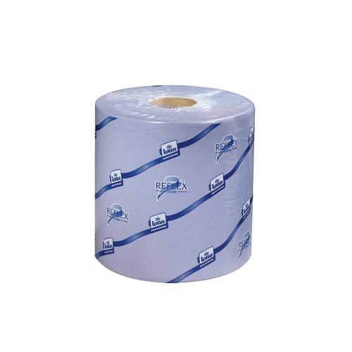 Tork Blue 2 Ply Reflex Centrefeed Roll Pack of 6