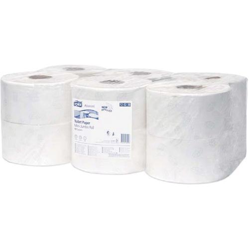 Tork Advanced Mini Jumbo Toilet Roll 2 Ply 120238