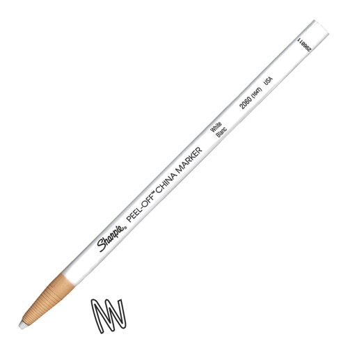 Sharpie China Wax Marker Pencil White Ref S0305061
