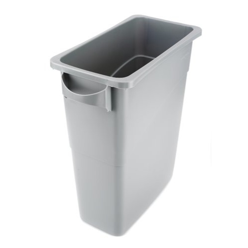 Rubbermaid Grey 60L Slim Jim Venting Channel Bin Base REF 3541-GRY/R001192