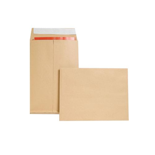 New Guardian Gusset Envelope 350x248x25mm Manilla Pk 100 M29066
