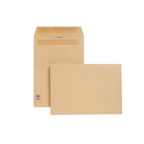 New Guardian Envelope C4 130gsm Manilla Self-Seal Pk 250 L26303