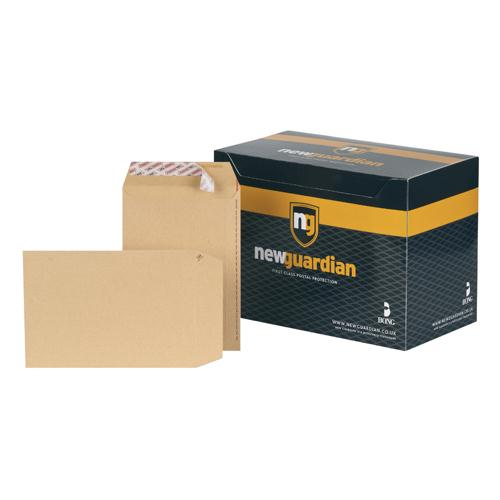 New Guardian Envelope C5 229x162mm 130gsm Manilla Peel and Seal Pk 250 L26039