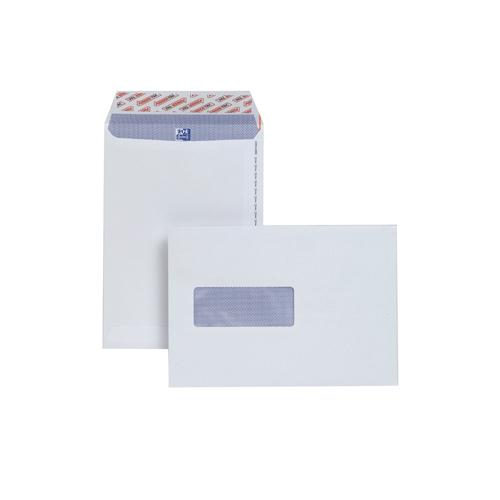 Plus Fabric Envelope C5 Window White Prestige 110gsm Pocket Peel and Seal Pk 500 E24970