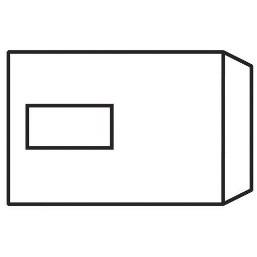 Evolve C5 Recycled Envelope Window White Self-Seal 100gsm Pk 500 RD7084