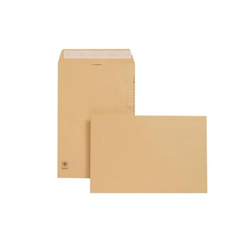 New Guardian Envelope 381x254mm 130gsm Manilla Peel and Seal Pk 125 E23513