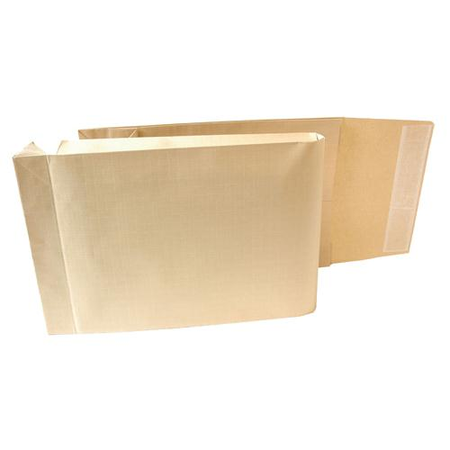 New Guardian Armour Gusset Envelope 465x340x50mm Manilla 130gsm Peel and Seal Pk 100 L28413