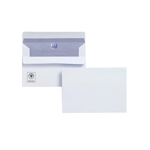 Plus Fabric Envelope C6 110gsm White Self-Seal Pk 500 F23470