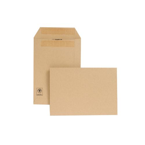 New Guardian Envelope C5 229x162mm 130gsm Manilla Self-Seal Pk 250 D26103
