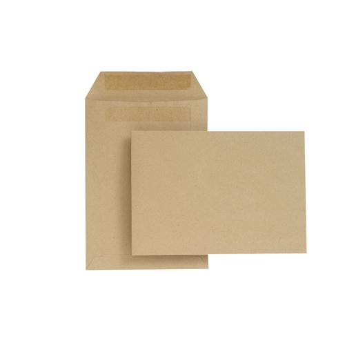 New Guardian Envelope C5 229x162mm 80gsm Manilla Self-Seal Pk 500 H26211