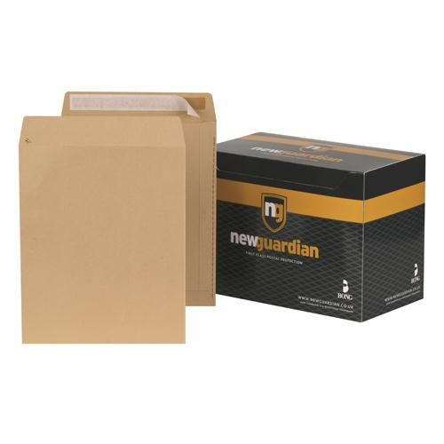 New Guardian Envelope 305x250mm 130gsm Manilla Self-Seal Pk 250 L27103