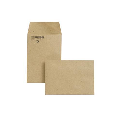 New Guardian Envelope 98x67mm 80gsm Manilla Gummed Pk 2000 M24011