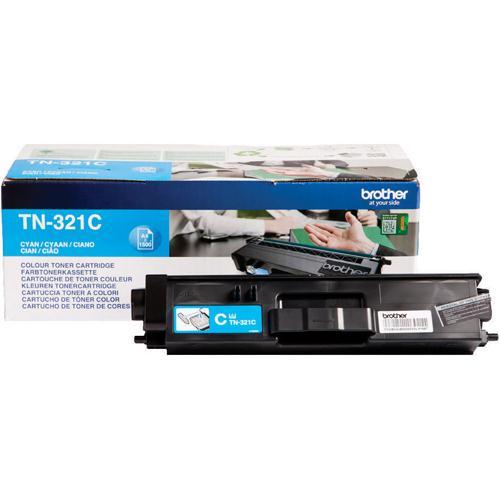 Brother Laser Toner Cartridge Cyan Pack of 1 TN-321C