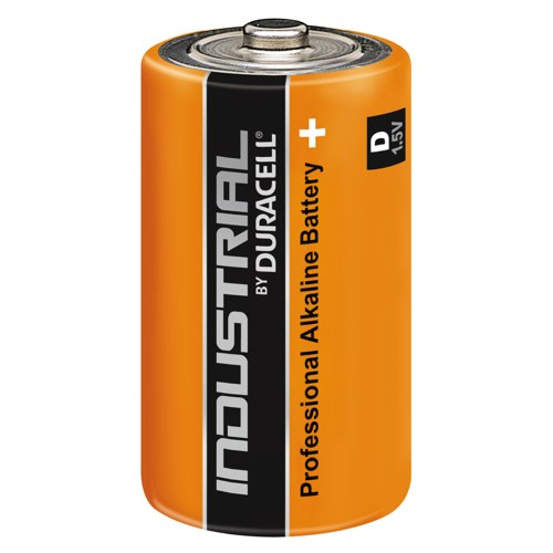 Duracell industrial Alkaline Battery MN1300 Pack 10 Ref 15070555 S3863