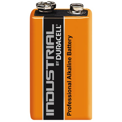 Duracell Industrial 9V Batteries Pack of 10