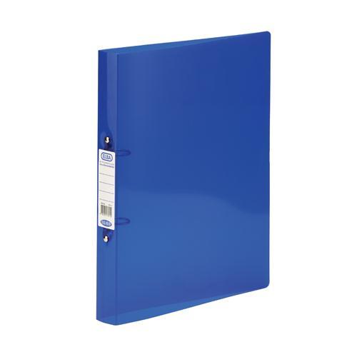 Elba Snap Polypropylene Ring Binder A4 Blue Pk10 400002002