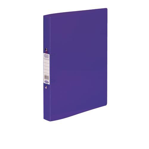 Elba Snap Polypropylene Ring Binder A4 Purple Pk10 400002003