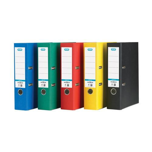 Elba Paper Over Board Lever Arch Assorted