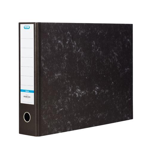 Elba Lever Arch File A3 Oblong 70mm Black 100080747