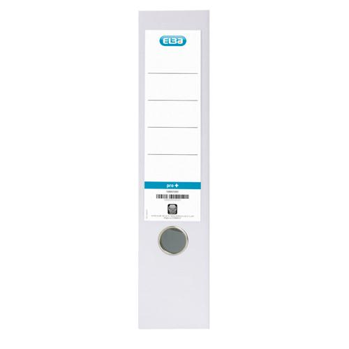 Elba Lever Arch File PVC A4 Upright 70mm White 100080902