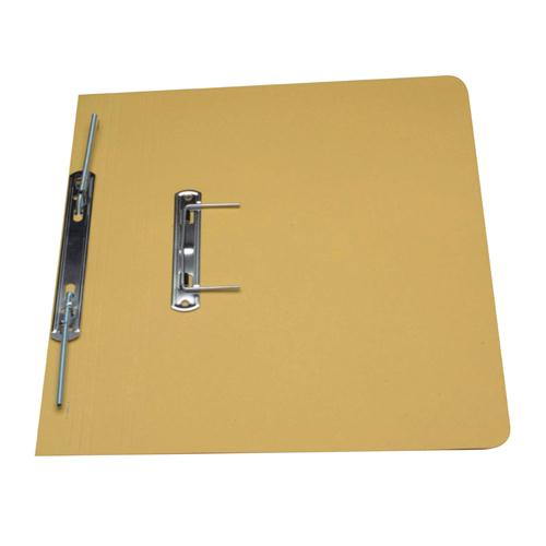 Guildhall Super Heavyweight Spiral File Yellow 211/7003