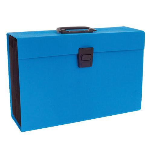 Rexel Joy Expanding Box File Blue RX23465