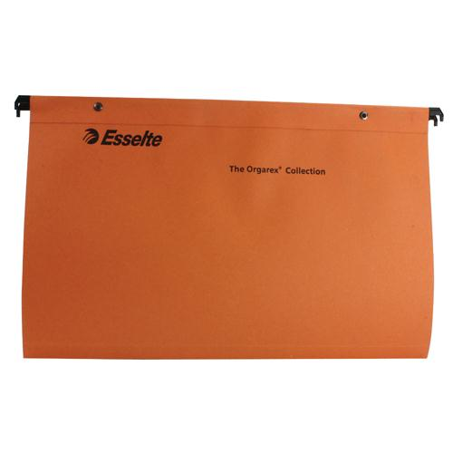 Esselte Orgarex Suspension File Foolscap Pk 50 10402