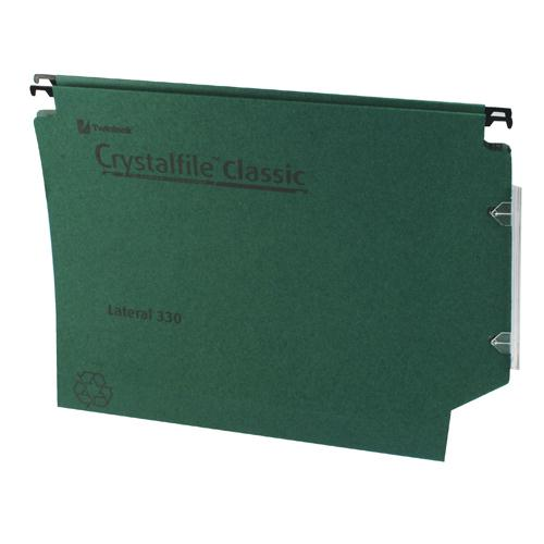 Twinlock CrystalFile Classic Lateral File 30mm Green Pk 25 3000109