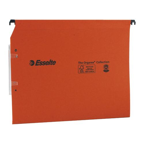 Esselte Orgarex 30mm Lateral File A4 (Pk 25) 21629