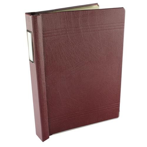 Twinlock Crown 3C Binder Maroon 75003