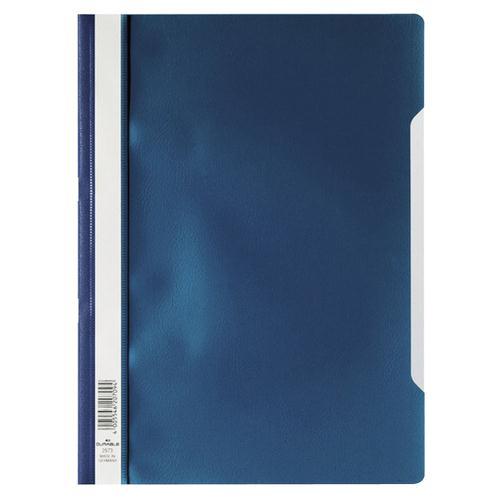 Elba Clearview Folder A4 Blue 400055030