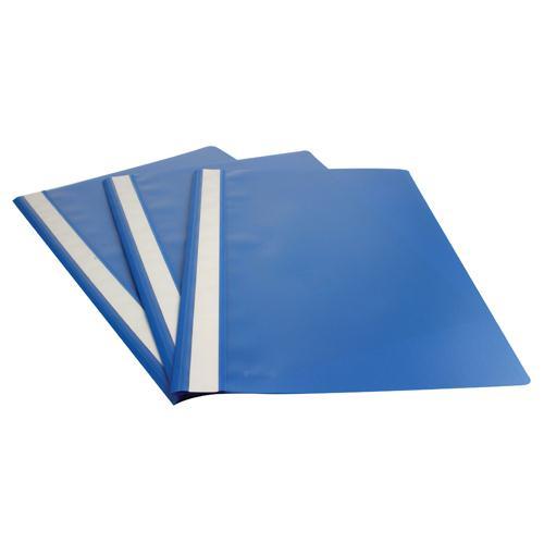 Esselte Report File A4 Polypropylene Blue (Pk 25) 28322