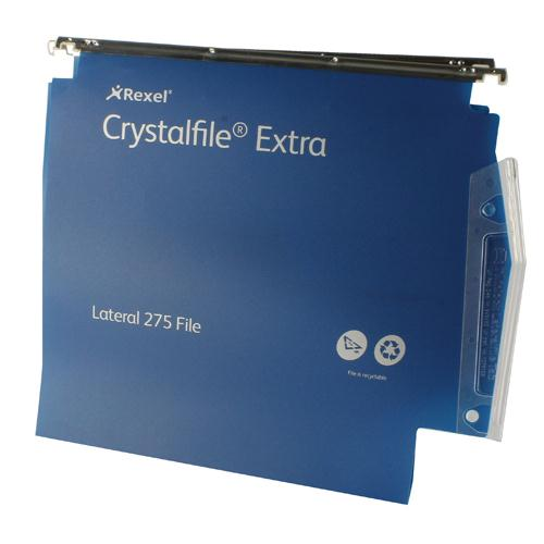 Twinlock CrystalFile Extra Lateral File 30mm Blue Pk 25 70642