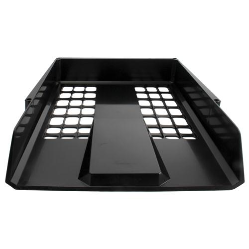 Avery Myers Duet Letter Tray Black 1132