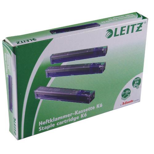 Leitz Heavy Duty Staple Cartridge 6mm Blue 55910000