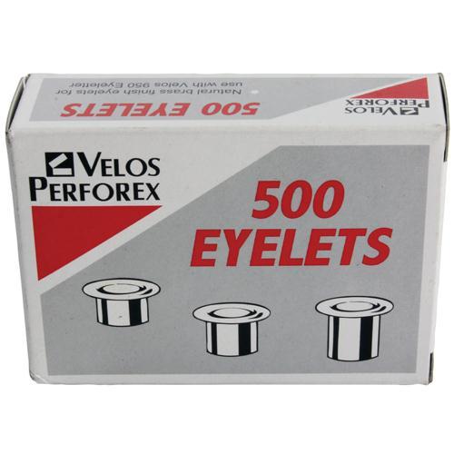 Velos Eyelets Brass No.2 (Pk 500) 20320051