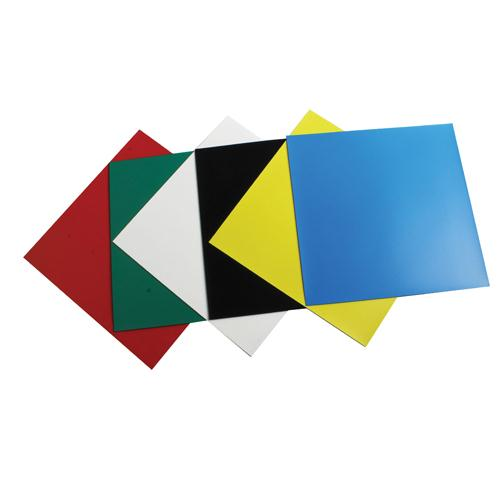 Nobo Magnetic Squares Assorted Pk 6 1901104