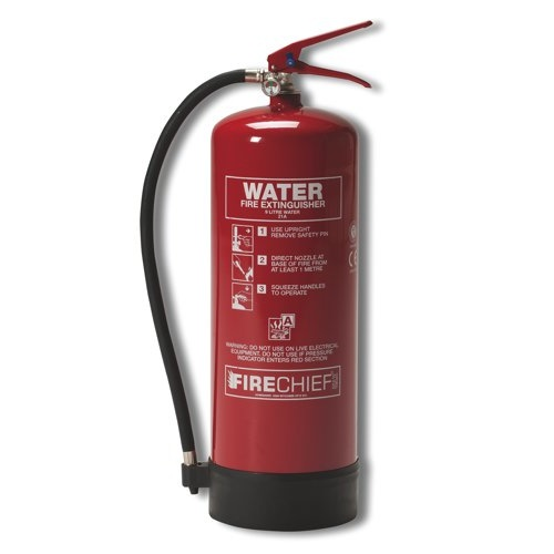 Ivg Water Fire Extinguisher 9.0 Litre BSI Kitemarked Ref IVGS9.0LTWT Each