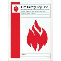 FSMISC Fire Safety Log Book Ref IVGSFLB Each