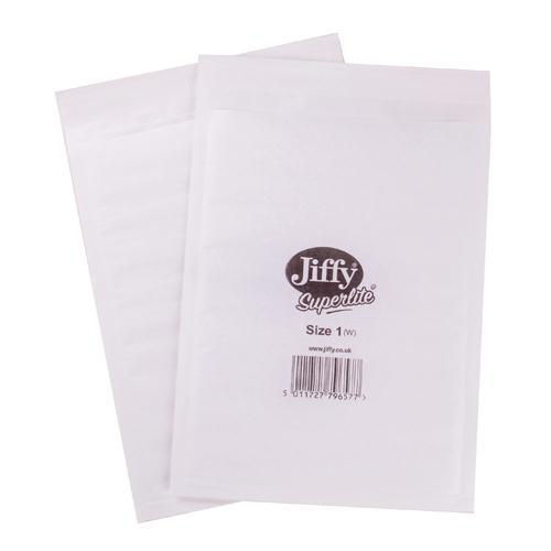 Jiffy Superlite Foam Lined Mailer Size1 Pk200