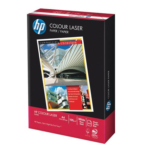 HP White 120gsm Laser Printer Paper Ream of 250