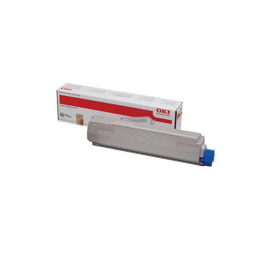 OKI MC851/MC861 Laser Toner Cartridge Yellow 44059165