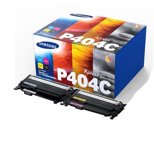 Samsung C430/C480 Cyan/Magenta/Yellow/Black Toner Cartridge Rainbow Pack P404C CLT-P404C/ELS