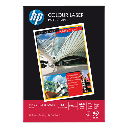 HP White 90gsm A4 Laser Printer Paper Ream of 500