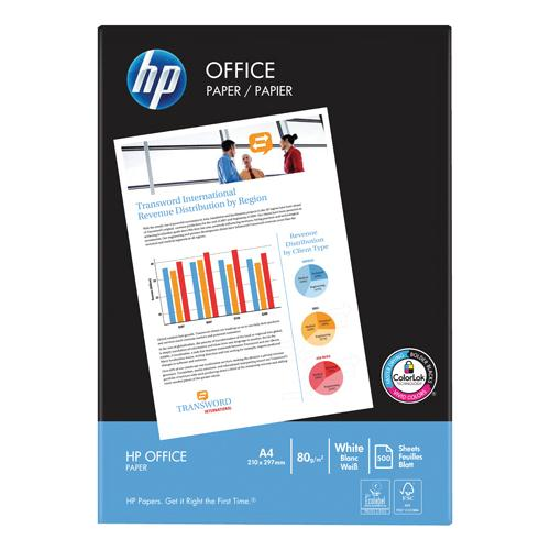 HP White 80gsm A4 Printer Paper Box of 5 Reams