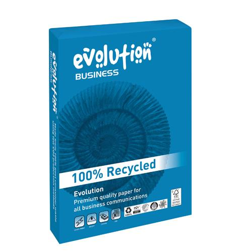 Evolution White 100gsm A3 Recycled Printer Paper Ream of 500