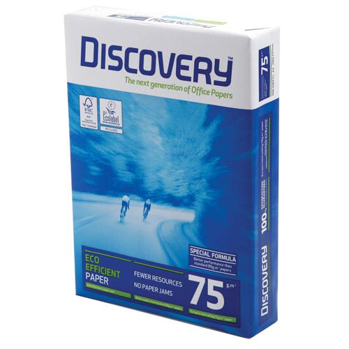 Discovery White 75gsm A3 Printer Paper Ream of 500